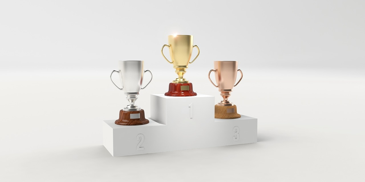 Employee recognition trophies